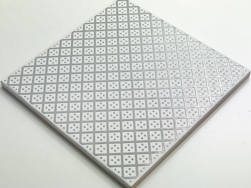20x20cm Decori Wonder's Patch 2 Silver WP300