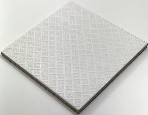 20x20cm Decori Wonder's Patch 2 Bianco WP300