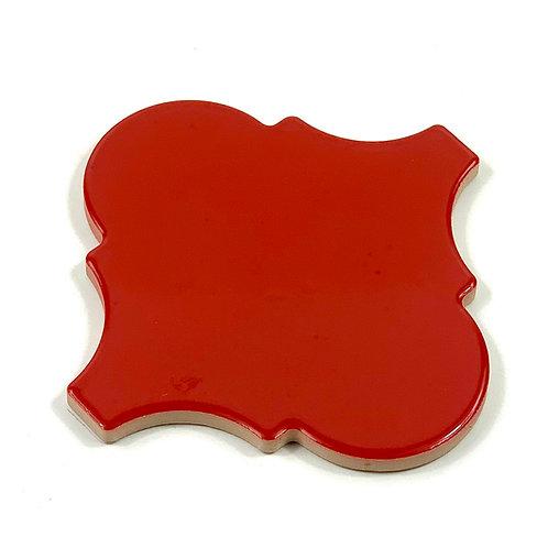15x15 Arabesco A15 Rosso Selenio Lucido