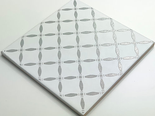 20x20cm Decori Wonder's Patch 6 Silver WP300