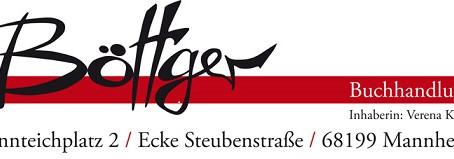 Lesung mit Judith Reusch  Am 2. Juli um 18:30 Uhr in Mannheim, Buchhandlung Böttger