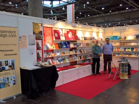 Wir sind wieder dabei: Leipziger Buchmesse am 15. bis 18. März 2018