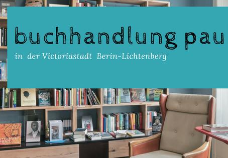Lesung bei paul + paula, Berlin-Lichtenberg am 22. Mai, 20 Uhr