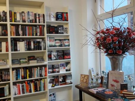 Zu Gast bei Buchhandlung Taube, Waiblingen