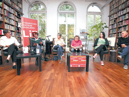 Zum Heidelberger LiteraturHerbst  Verlage stellen eine Neuheit vor