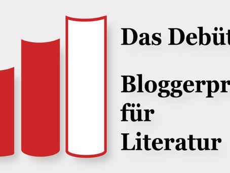 """""""Eisvogelblau"""" für den  Bloggerpreis - Das Debüt 2019 nominiert"""
