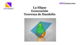 El Teorema de Dandelin para la Elipse