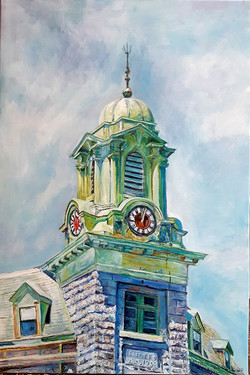 clock tower 2021 Anderson