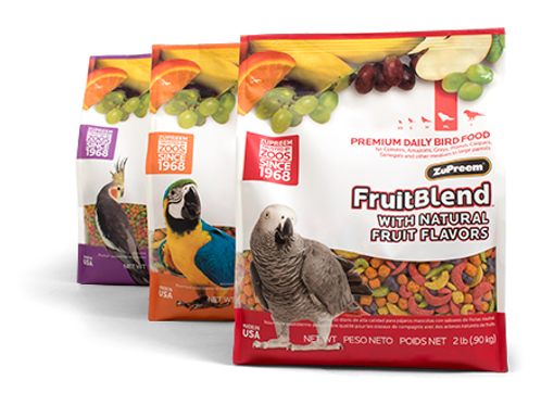 ZuPreem FruitBlend Pellets - 2kg