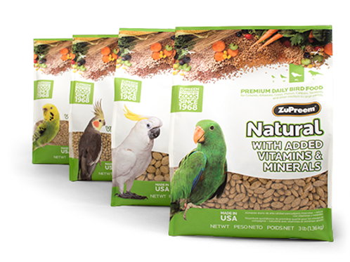 ZuPreem Natural Pellets - 2kg