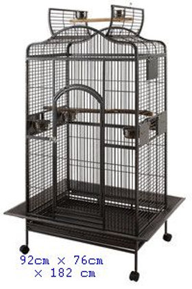 Parrot Cage Open Roof Top Large