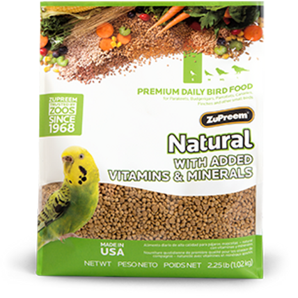 ZuPreem Natural Pellets - 5kg