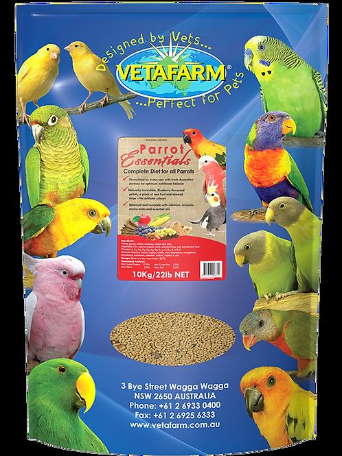 VetaFarm Parrot Essential Pellets 2kg