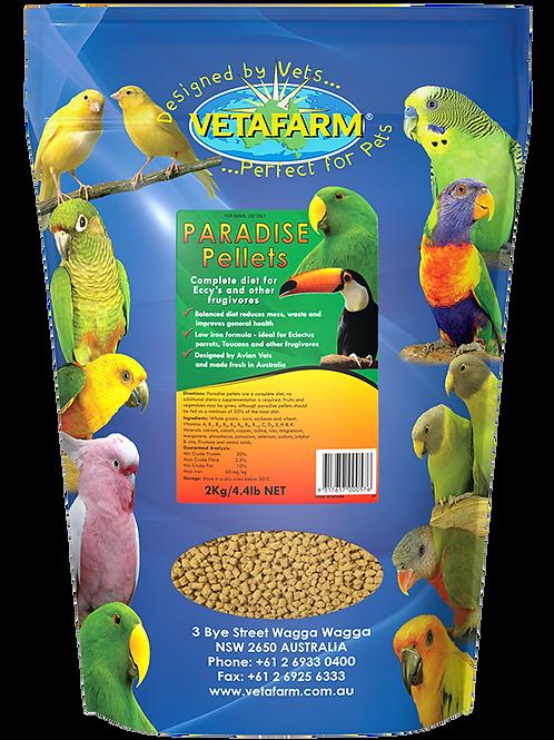 Vetafarm Paradise Pellets 2kg