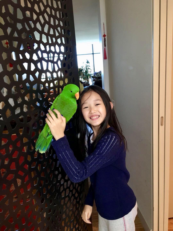 Dawang and a Young Girl