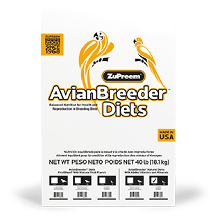 ZuPreem Avian Breeder Natural 18.1kg