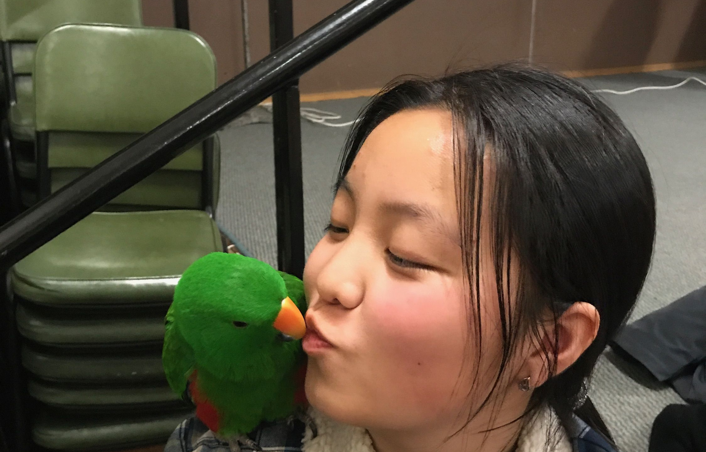 Dawang and  a Lady