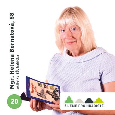Mgr. Helena Bernatová, 58