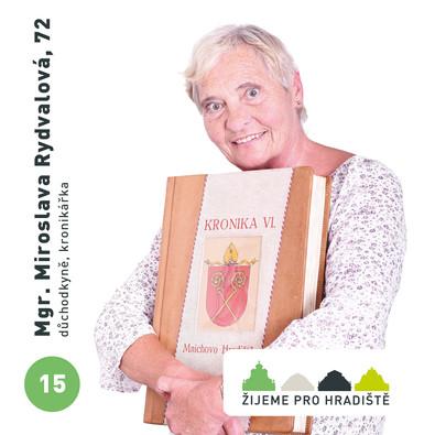 Mgr. Miroslava Rydvalová, 72