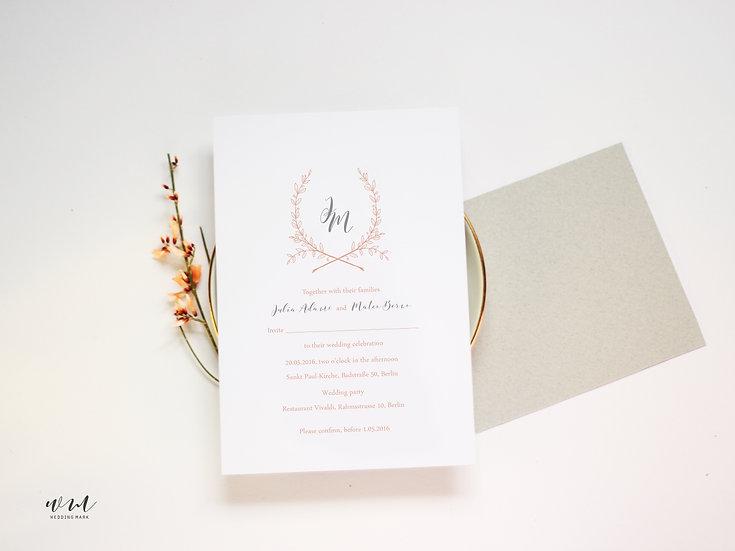 WEDDING INVITATION / NEUTRAL
