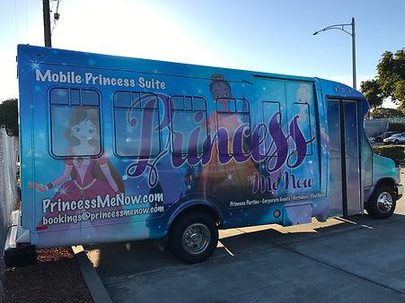 Princess Me Now mobile chariot