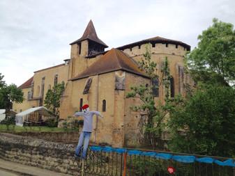 St Sever de Rustan ancient abbey