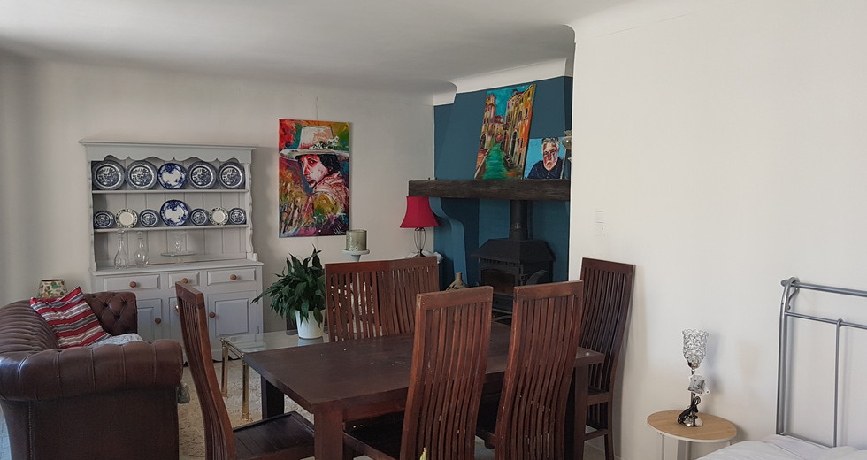Dining, summer lounge and or guest  room