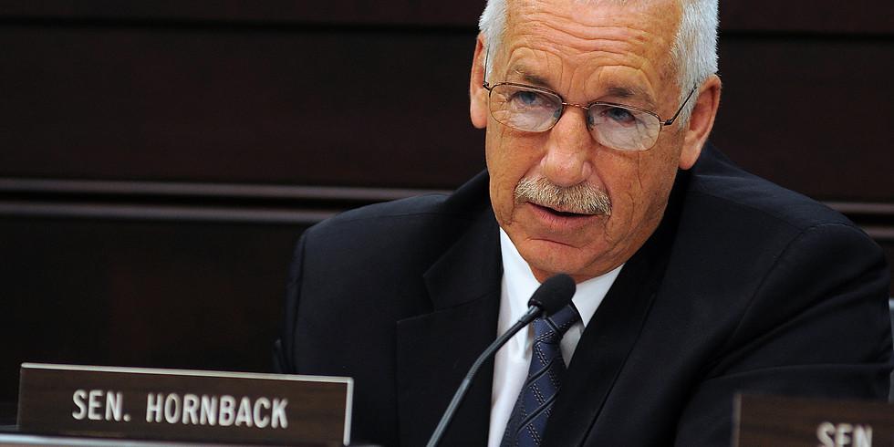 February Meeting - Legislative Update with Sen. Hornback