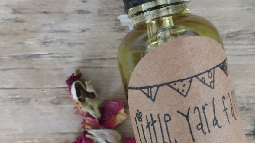 rose & mullein body and face oil