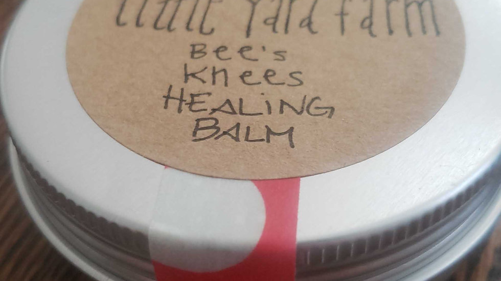 Bees Knees Healing Balm or Cream Lotion
