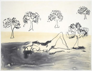 Laying with the Olive Trees
