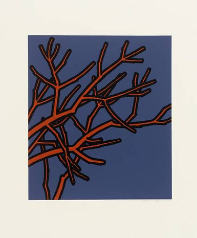 Patrick Caulfield, All the benches, silkscreen, for sale
