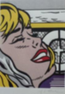 Roy Lichtenstein, Shipboard girl, for sale