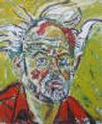 John Bratby, self-portrait, original, for sale