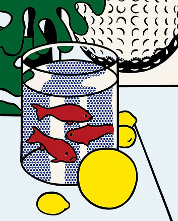 Roy Lichtenstein, goldfish, for sale
