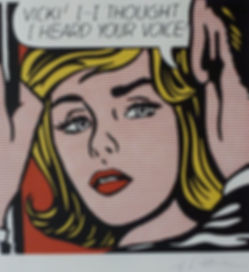 Roy Lichtenstein, Vicki, for sale