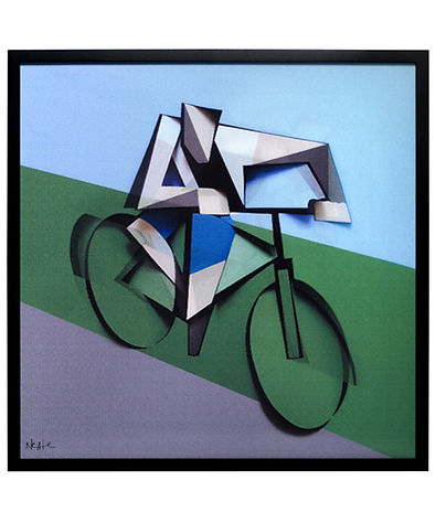 Adam Neate, street artist, the cyclist, for sale