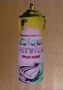 Spray Can Gold