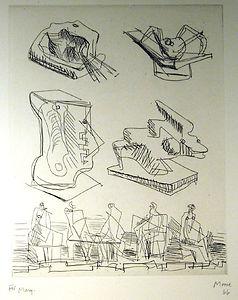 Preparatory Drawings