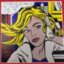 Roy Lichtenstein, Maybe he became ill, for sale