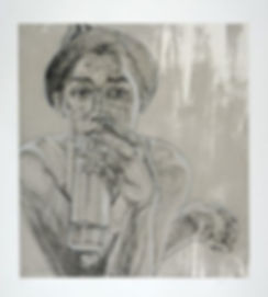 Swoon, artist, Soup, drypoint, for sale