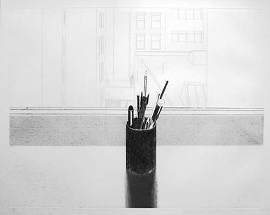 David Hockney, still life with pencils, for sale
