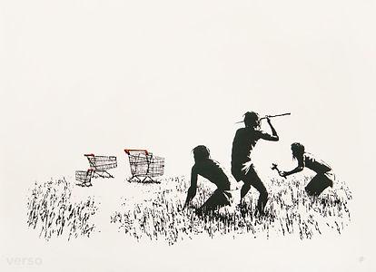 Trolley Hunters (B/W)