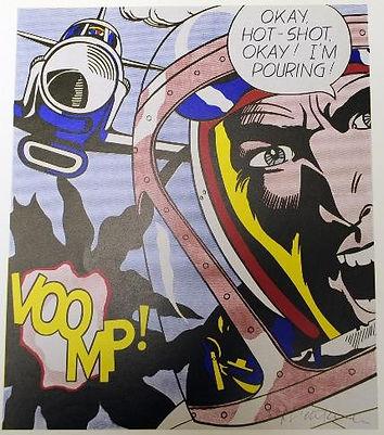 Roy Lichtenstein, Ok hot shot, for sale