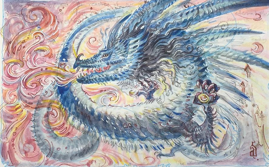 Fire-Eclipse Dragon