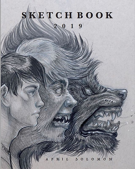 Self published limited edition sketchbook 2019