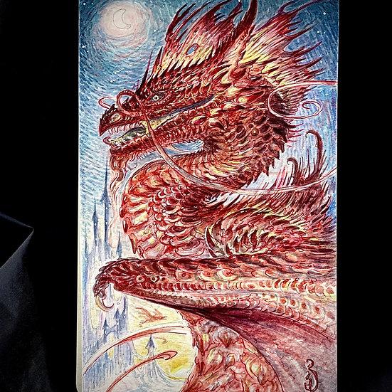"""Original"" Ruby Red Dragon"