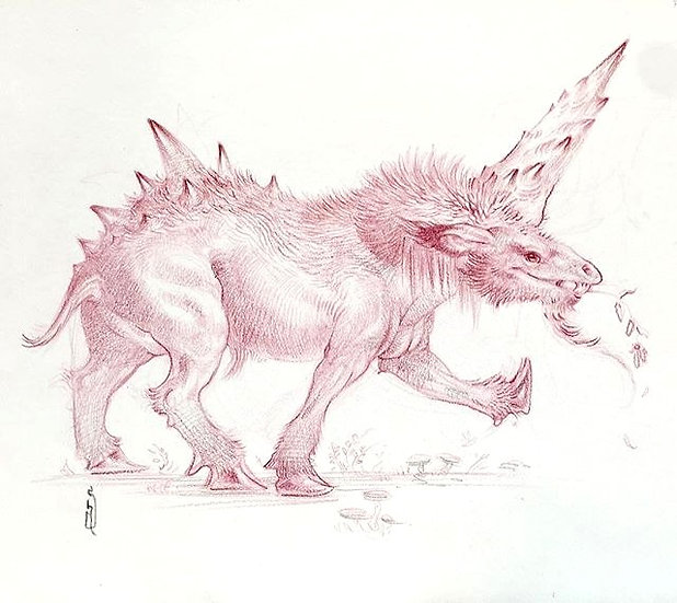 "ORIGINAL ~ Junicorn ""Prehistoric"""