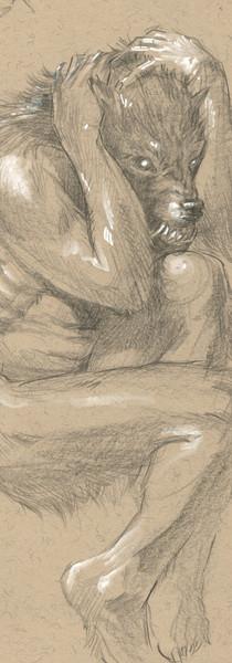 Origin of Lycanthrope Sketch