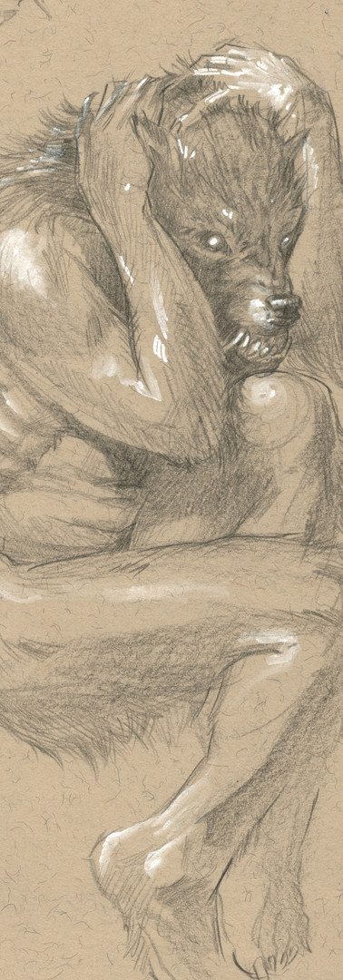 Origin of Lycanthrope Sketch
